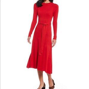 New Alex Marie Fallon Midi Length Knit Dress